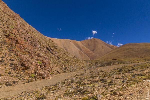 Auf dem Weg zum verlassenen Bergwerk La Mejicana