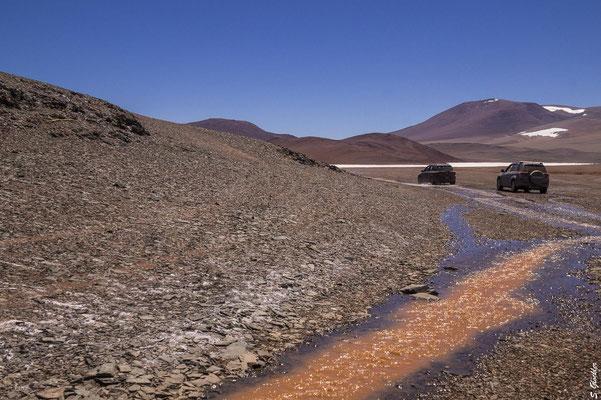 Unterwegs in der Puna auf über 4000 m ü.M., Provinz La Rioja