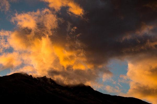 patagonisches Wolkenspiel