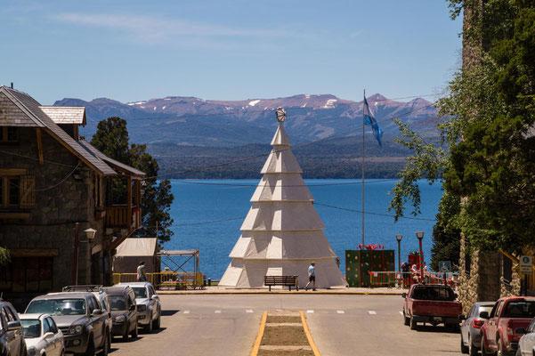 Weihnachtsbaum in Bariloche