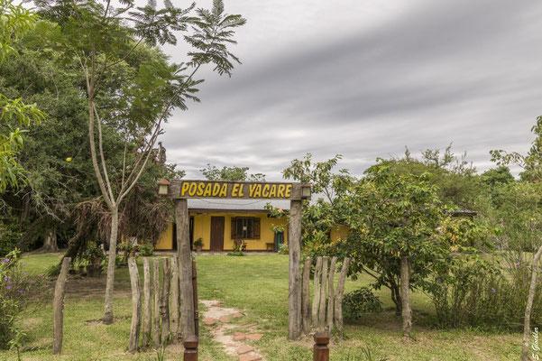 unsere Unterkunft Posada el Yacaré