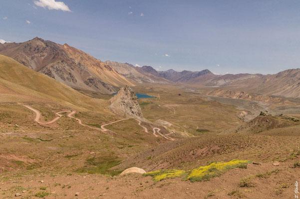 Blick ins Valle Hermoso (auf Deutsch: wunderschönes Tal)