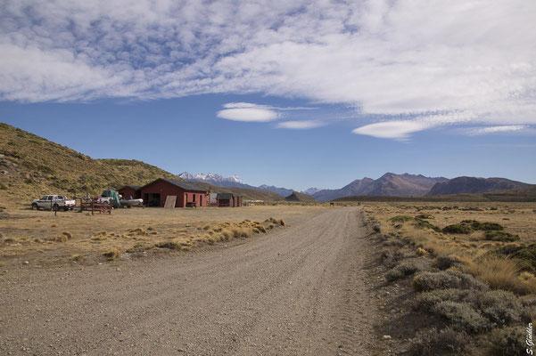 Rangerstation in einem Nationalpark in Patagonien