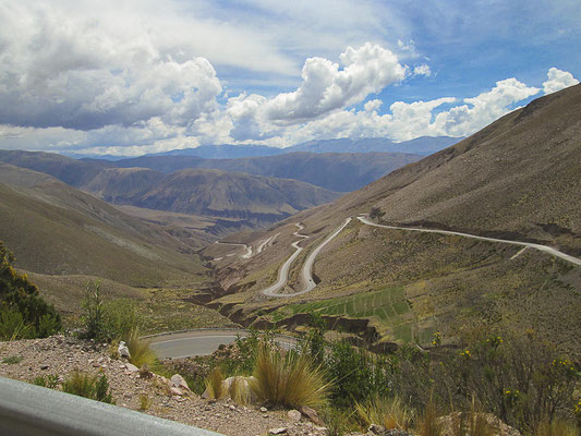 Passstraße Cuesta de Lipán
