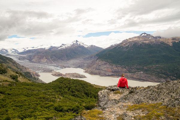 Blick auf den Glaciar Chico (Chile)