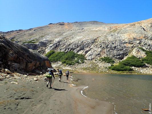 Wir verlassen die Laguna Cretón