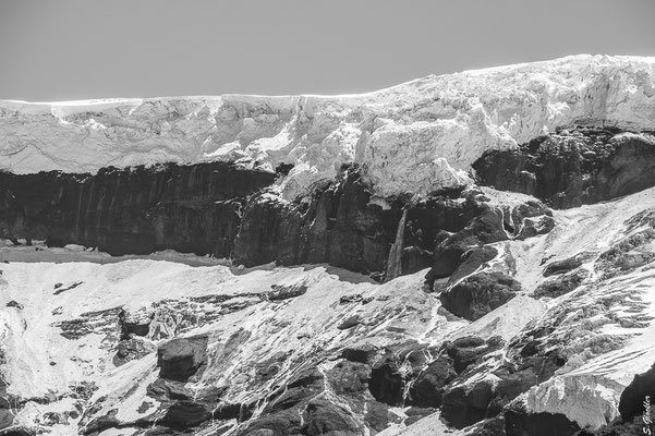 Ventisquero Negro, Gletscher des Cerro Tronador