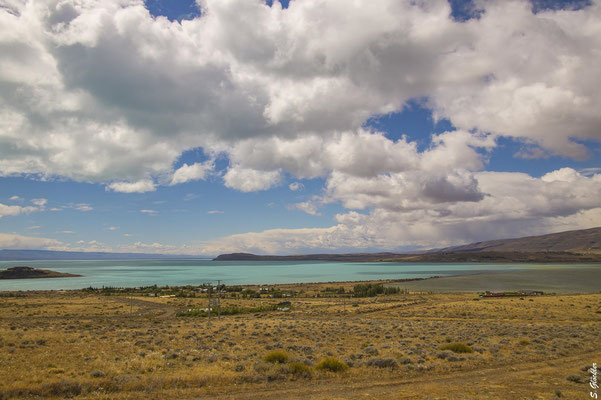 Der Lago Argentino ist rund 3 mal so groß wie der Bodensee