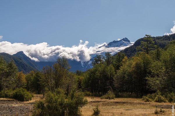 Cerro Tronador von Pampa Linda aus betrachtet