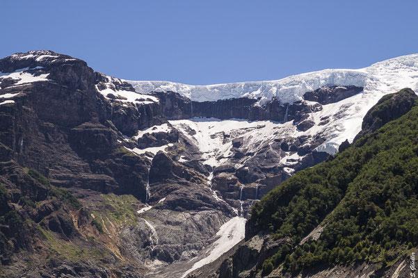 Die Gletscher des Cerro Tronador