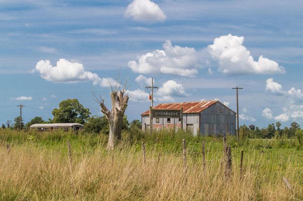 Ehemaliger Bahnhof von Invernadas