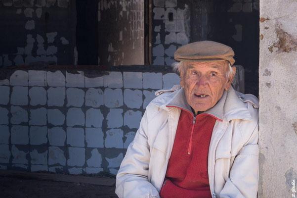 Pablo Novak, einziger Bewohner von Epecuén