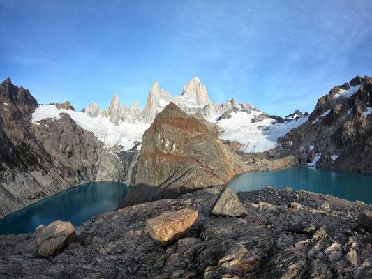 Laguna de los Tres (rechts) & Laguna Sucia