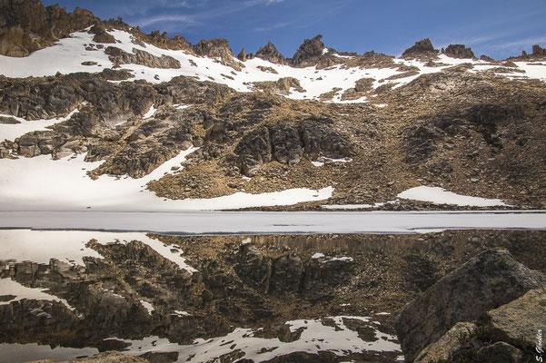 Laguna Schmoll in der Nähe des Refugio Frey