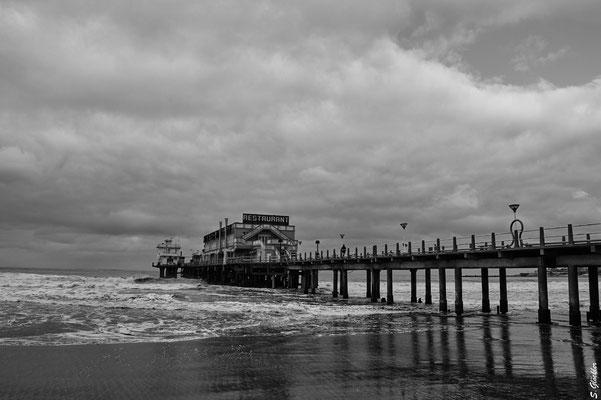 Strand im Zentrum von Mar del Plata