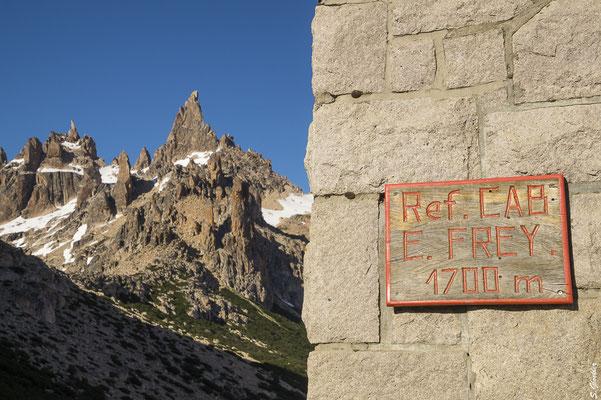 Am Ziel: Refugio Frey am Fuße des Cerro Catedral