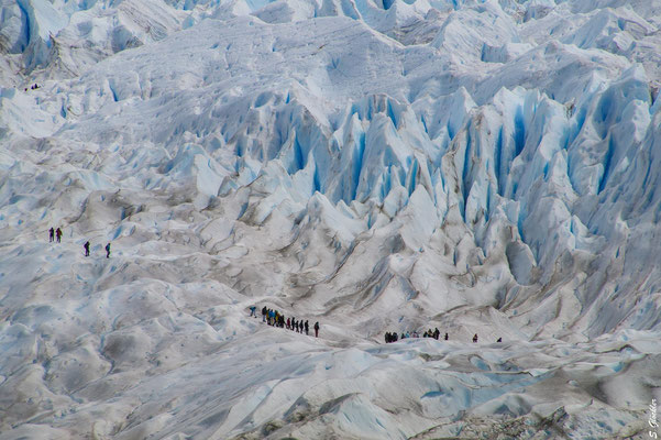 Trekking auf dem Perito Moreno Gletscher