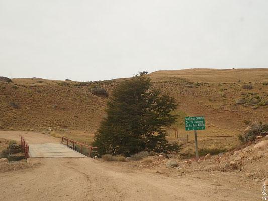 Unterwegs auf der RP 41, Provinz Santa Cruz