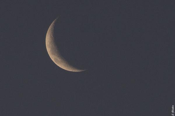 Mond über Patagonien