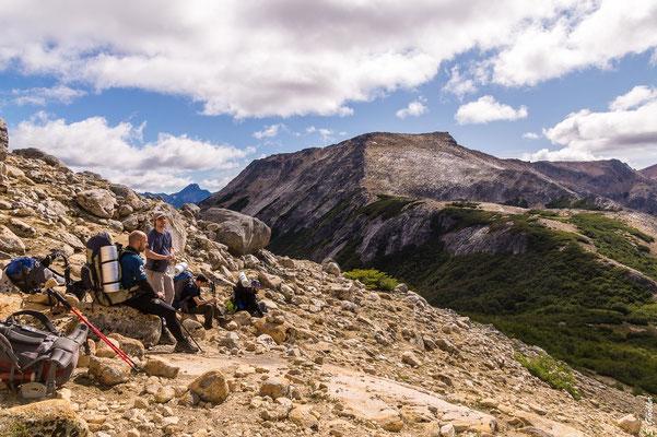 Aufstieg zum Cerro Cristal