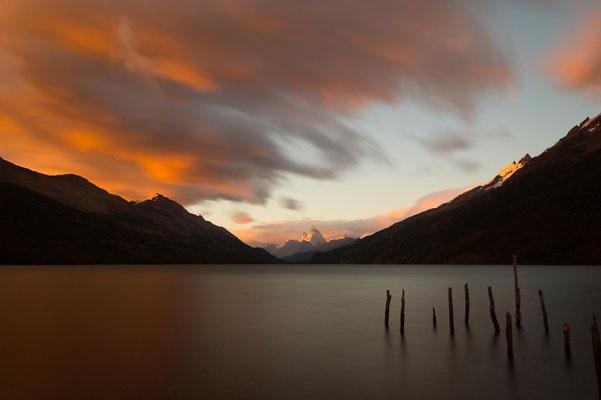 Morgenstimmung am Lago del Desierto