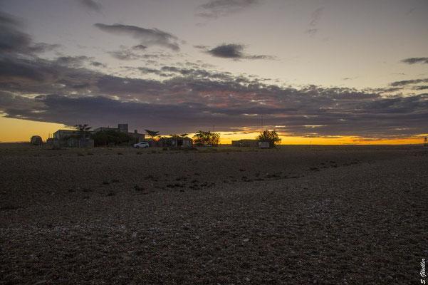Cabo Raso im Sonnenuntergang