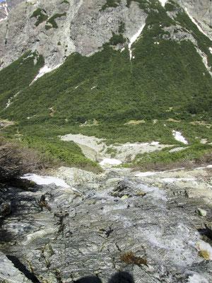 Abstieg Paso Schweitzer
