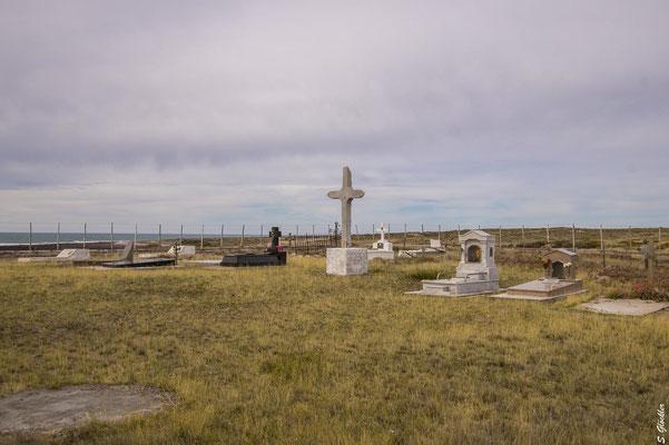 der Friedhof von Cabo Raso