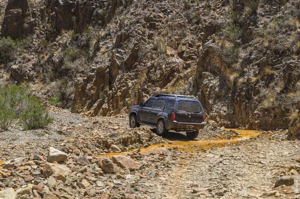 Mit dem Auto kann man die entlegensten Ecken Argentiniens erkunden