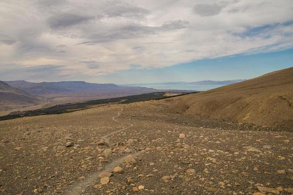 Auf dem Weg zum Mirador des Loma del Pliegue Tumbado