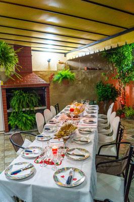 Der 24.12. wird auch in Argentinien mit der Familie gefeiert