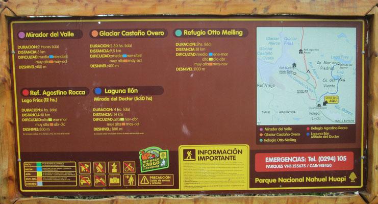 Touren von Pampa Linda: Refugio Otto Meiling, Agostino Rocca, Laguna Ilón