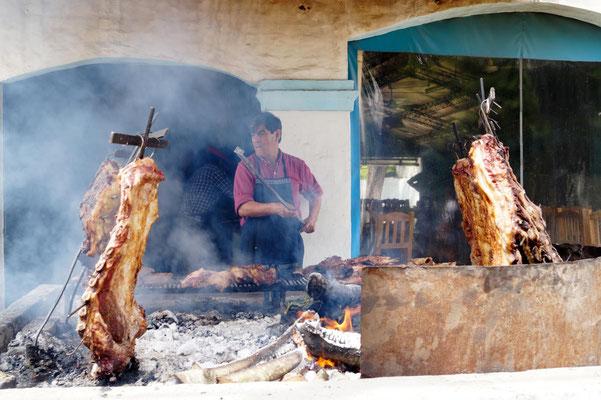 Asado-Grillfest in Argentinien