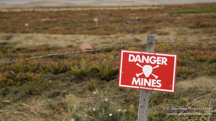 Gefahr Minen