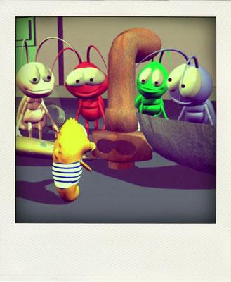 Los Sound Bugs son curiosos y extrovertidos. Les encanta hacer nuevas amistades.