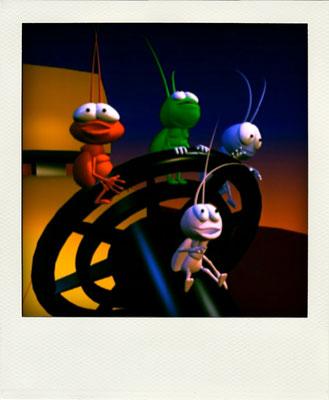 Pero, sin duda, lo que más gusta a los Sound Bugs es vivir emocionantes aventuras.