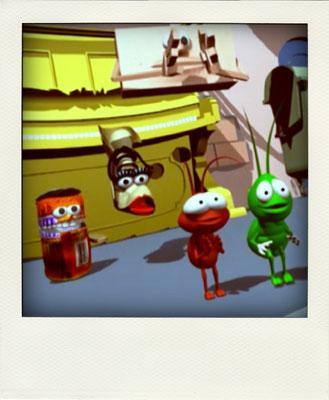 Sus mejores amigos son Tom, una simpática lata de tomate, y Bootsie, una bota muy sensata. Tom y Bootsie siempre acompañan a los Sound Bugs en sus aventuras.
