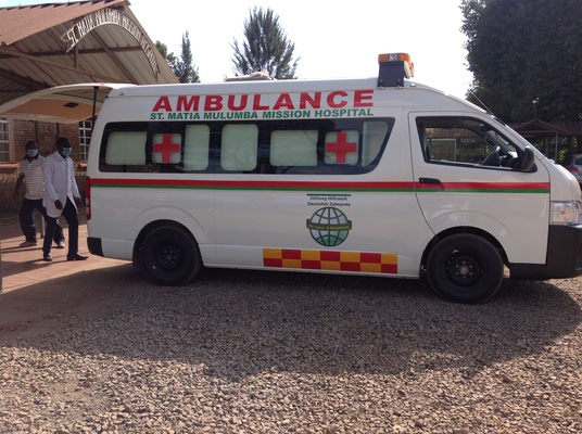 HDZ-Krankenwagen St. Matia Mulumba Mission Hospital in Thika, Kenia | Quelle: Hospital-Thika, Kenia