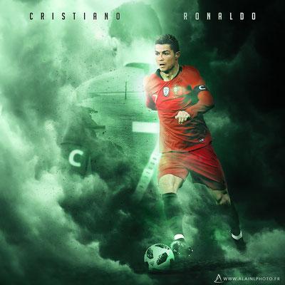 Cristiano Ronaldo - Football Design