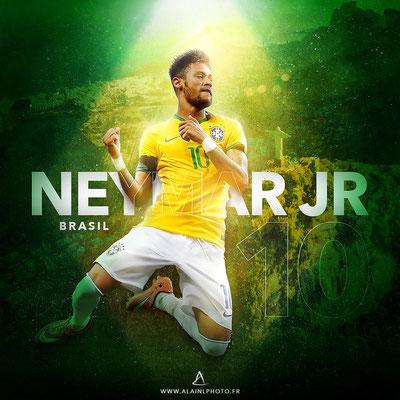 Neymar JR - Football Design