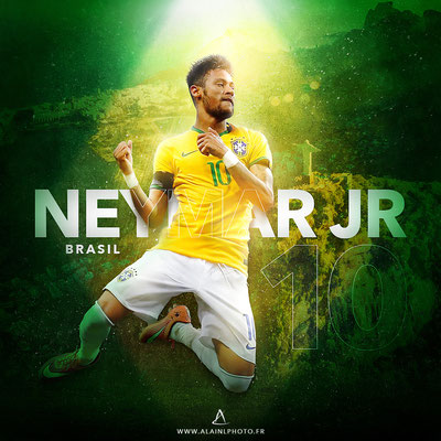 Neymar JR - Football Design