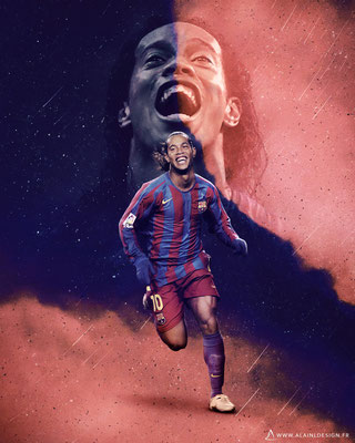 Ronaldinho Gaucho - Football Design