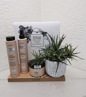 Full Defense, für strapaziertes Haar  Duft: ätherisches Eukalyptus Öl mit einem Mix von Zitrusfrüchten