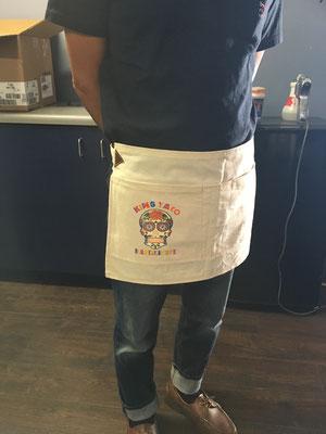 King Taco New York Aprons
