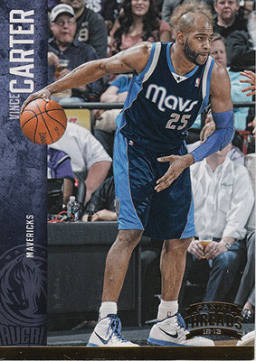 2012-13 Panini Threads Century Proof Gold #28 Vince Carter