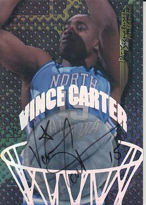 1998 Collector's Edge Impulse Pro Signatures #8 Vince Carter