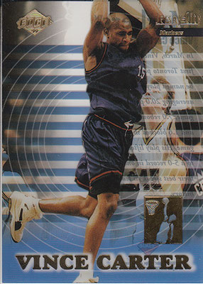 1999 Collector's Edge Jersey City Markers #M3 Vince Carter