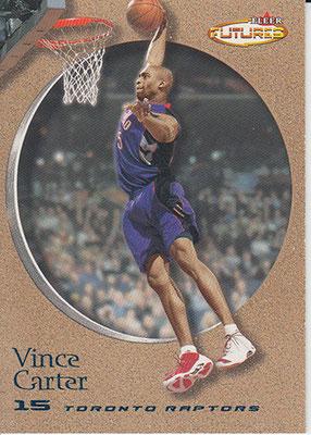 2000-01 Fleer Futures Copper #1 Vince Carter