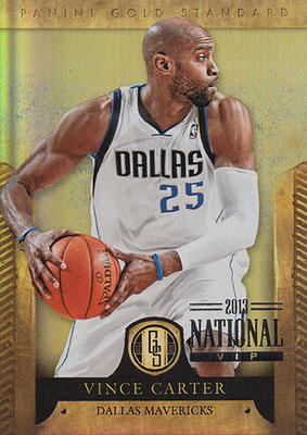 2012-13 Panini Gold Standard National Convention #24 Vince Carter