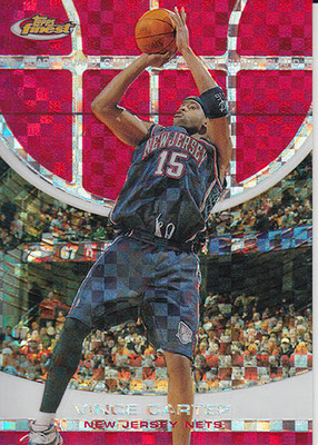 2005-06 Finest X-Fractors Red #89 Vince Carter